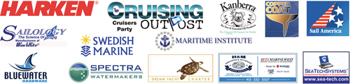 Cruising Outpost Sponsors for Strictly Sail Pacific Cruising Outpost Cruisers Party