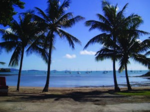 Airlie Beach, Australia, Just east of the Northern Territory.