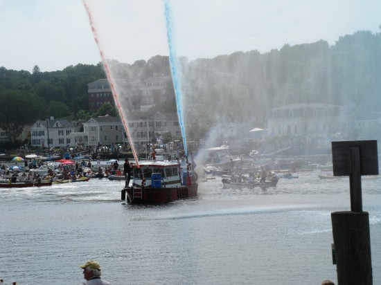 CW Morgan Fire Boat Celebrates