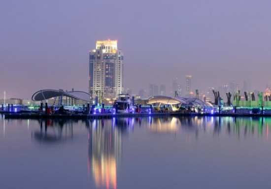 Lusail-Marina-a-beautiful-superyacht-marina-situated-in-Doha-Qatar-665x465