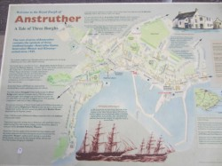 Photo 2 Anstruther Harbour plaque mentioning Ariel & Taeping