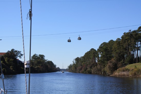 Cablecars at 68'