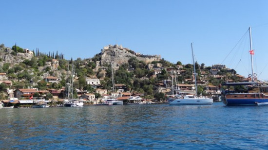Crusader castle, Kekova Roads