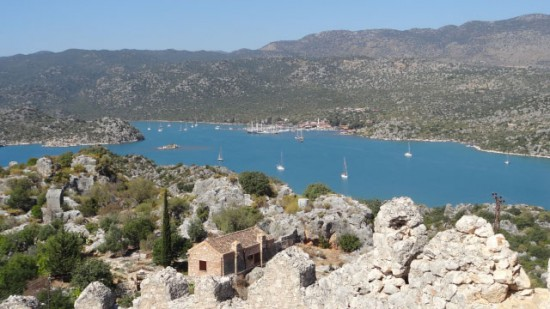 Inner anchorage, Kekova Roads