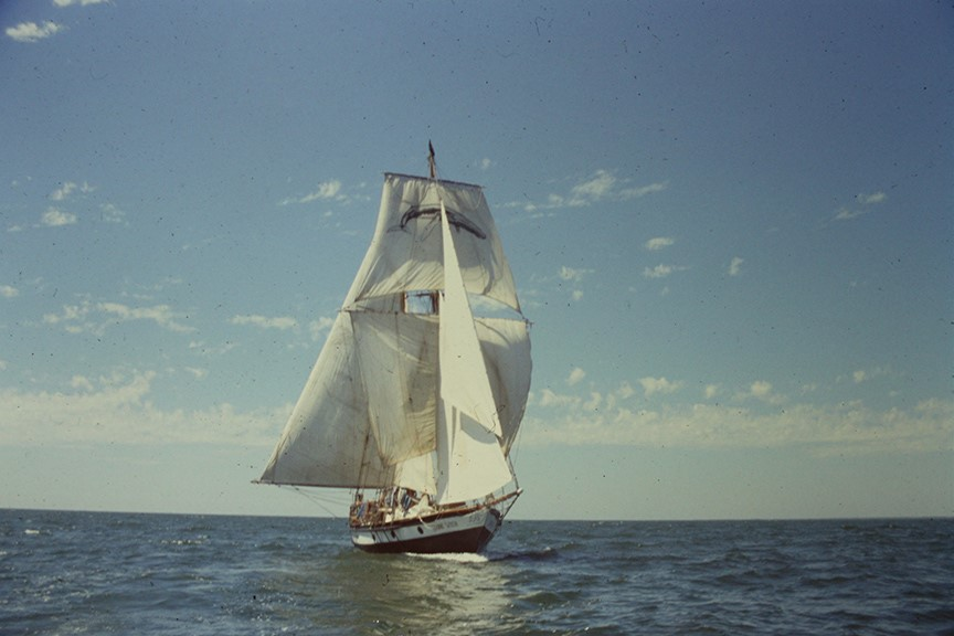 Stonewitch Sailing Vessel