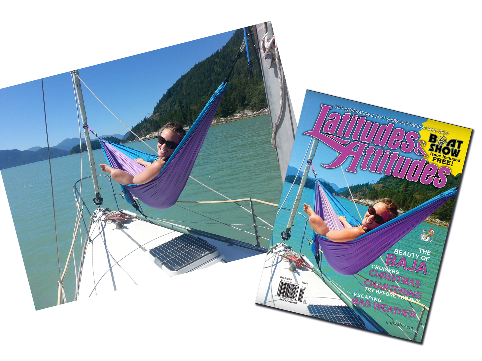 Get your picture on the cover of Latitudes & Attitudes Magazine